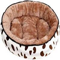 cama de perro con foma de llanta